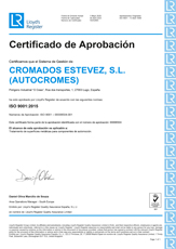 Certificado ISO small